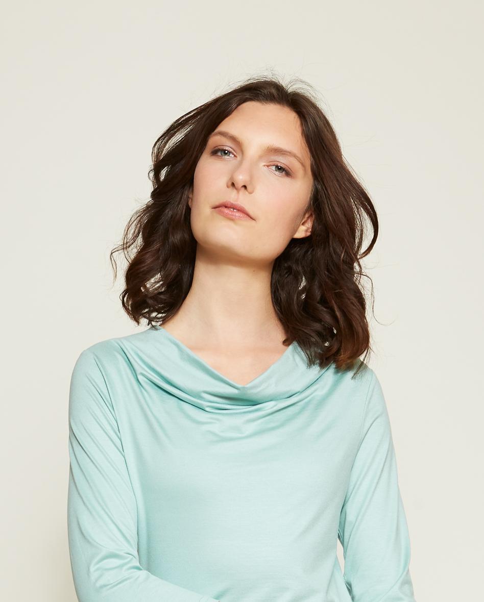 Shirt Luise/ 3/4 Arm/ aqua