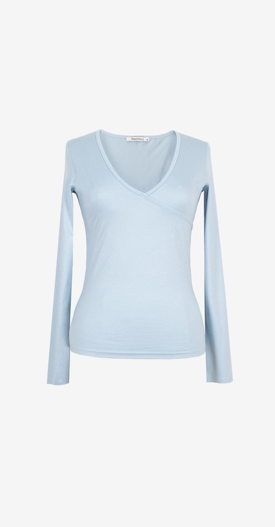 Shirt Malou/ hellblau/ langarm