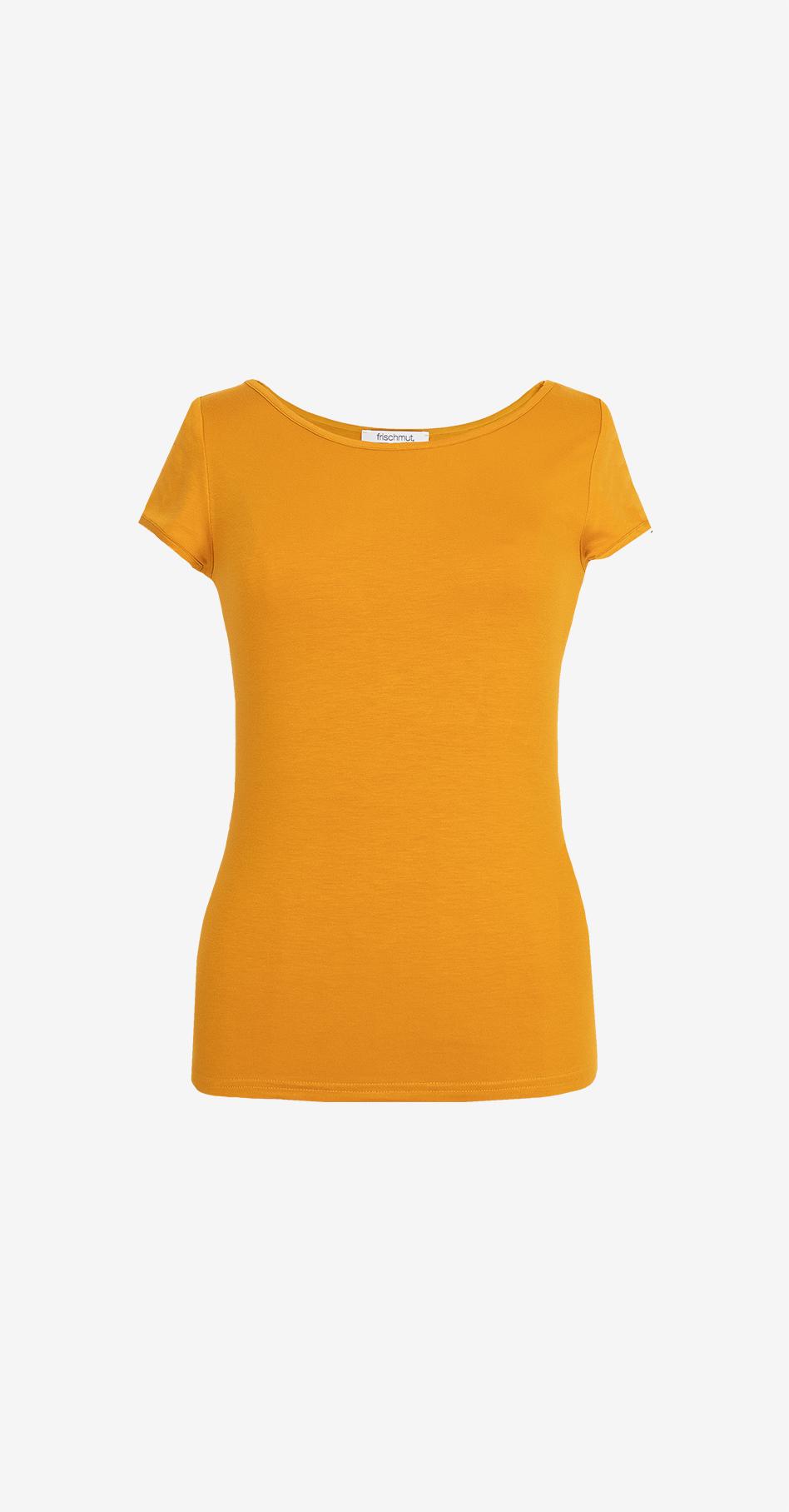 Shirt Mia/ kurzarm/ senfgelb