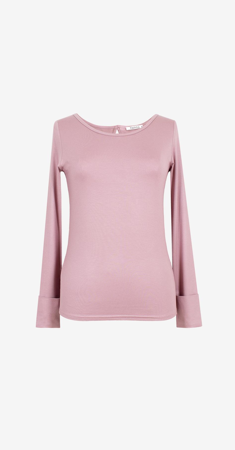 Shirt Mia/ langarm/ mauve