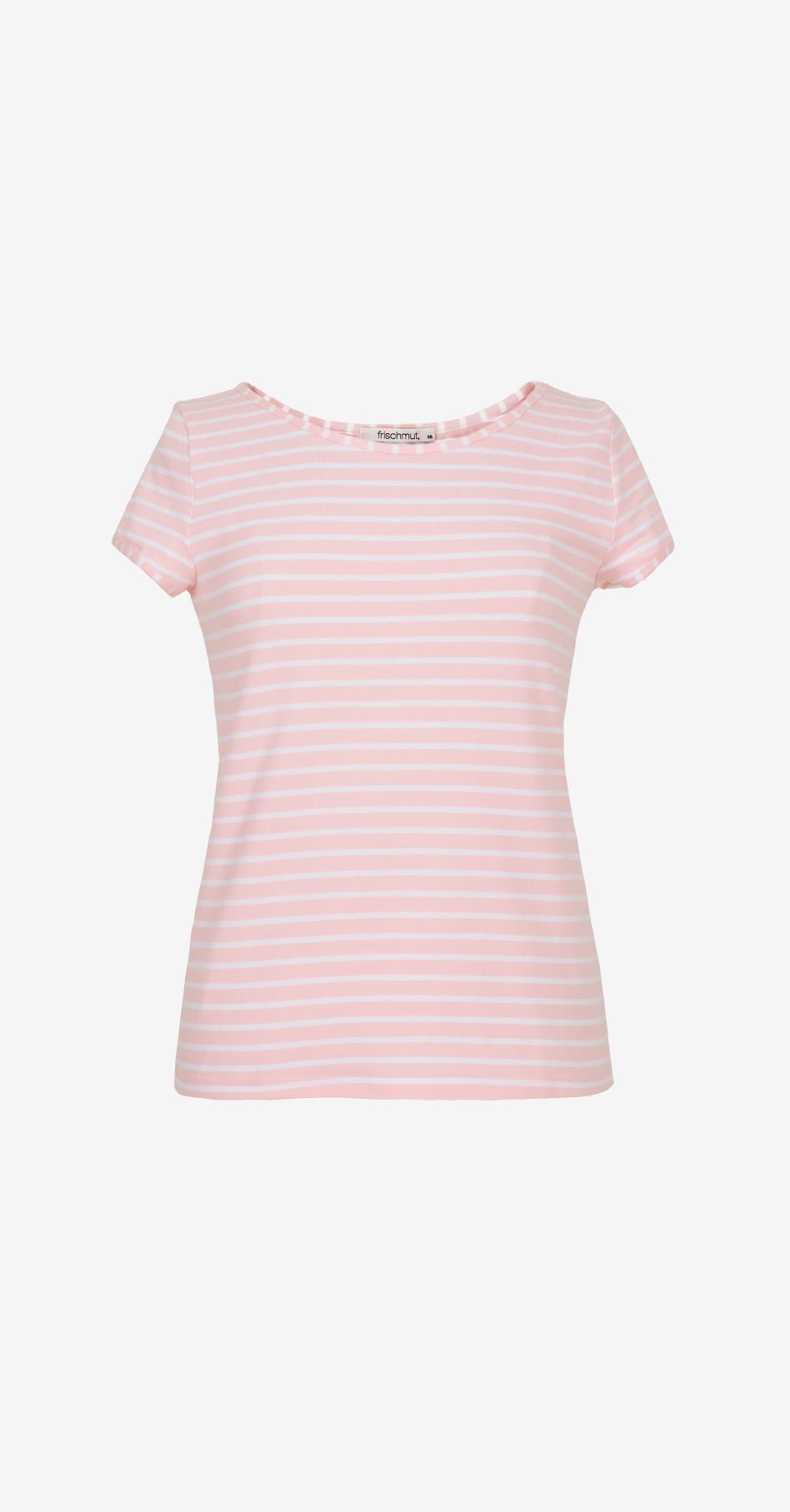 Shirt Mia/ geringelt/ rosa