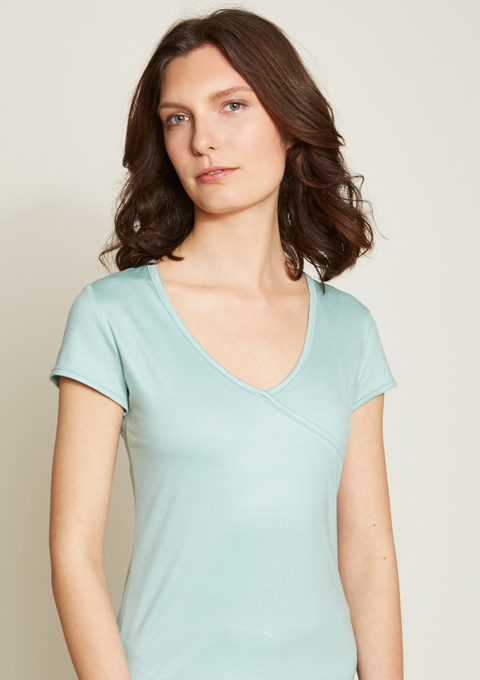 Shirt Malou/ aqua